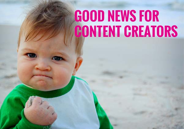 success for content creators