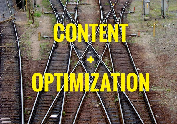 content + optimization
