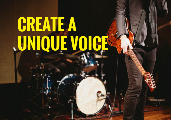 create a uniqe voice
