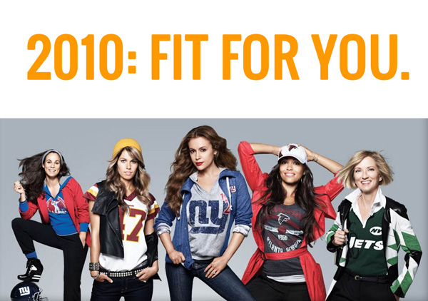 The NFL's 'Fit for You' campaign