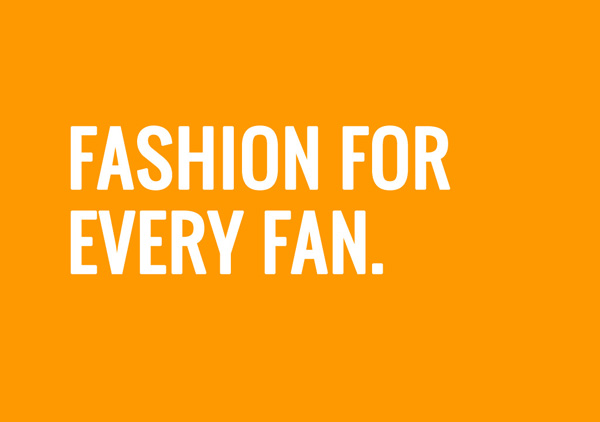 Fashion for every fan
