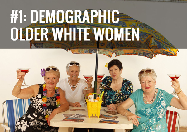 Old white women